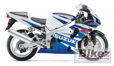 2002 Suzuki GSX-R 750 specifications and pictures