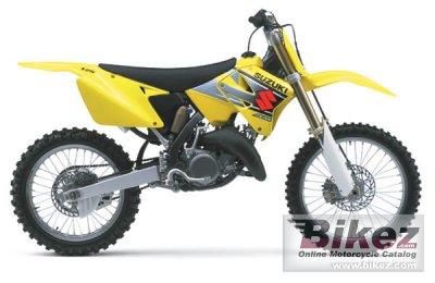 rm 125 Specs 2002 2002 Suzuki rm 125