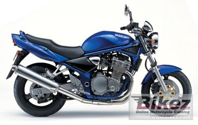 2003 suzuki gsf 600 n bandit specifications and pictures
