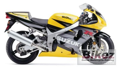 2003 Suzuki GSX-R 750 specifications and pictures