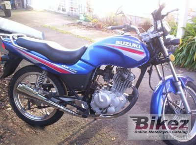 Suzuki GX 125 Photos, Informations, Articles - Bikes