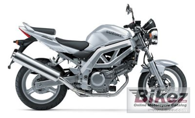 2003 Suzuki SV 650 specifications and pictures