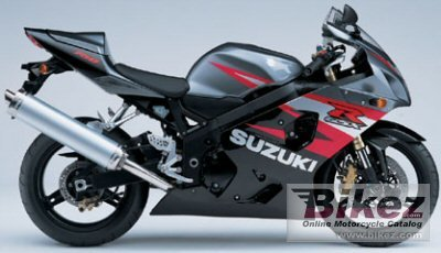 2004 Suzuki GSX-R 750 specifications and pictures