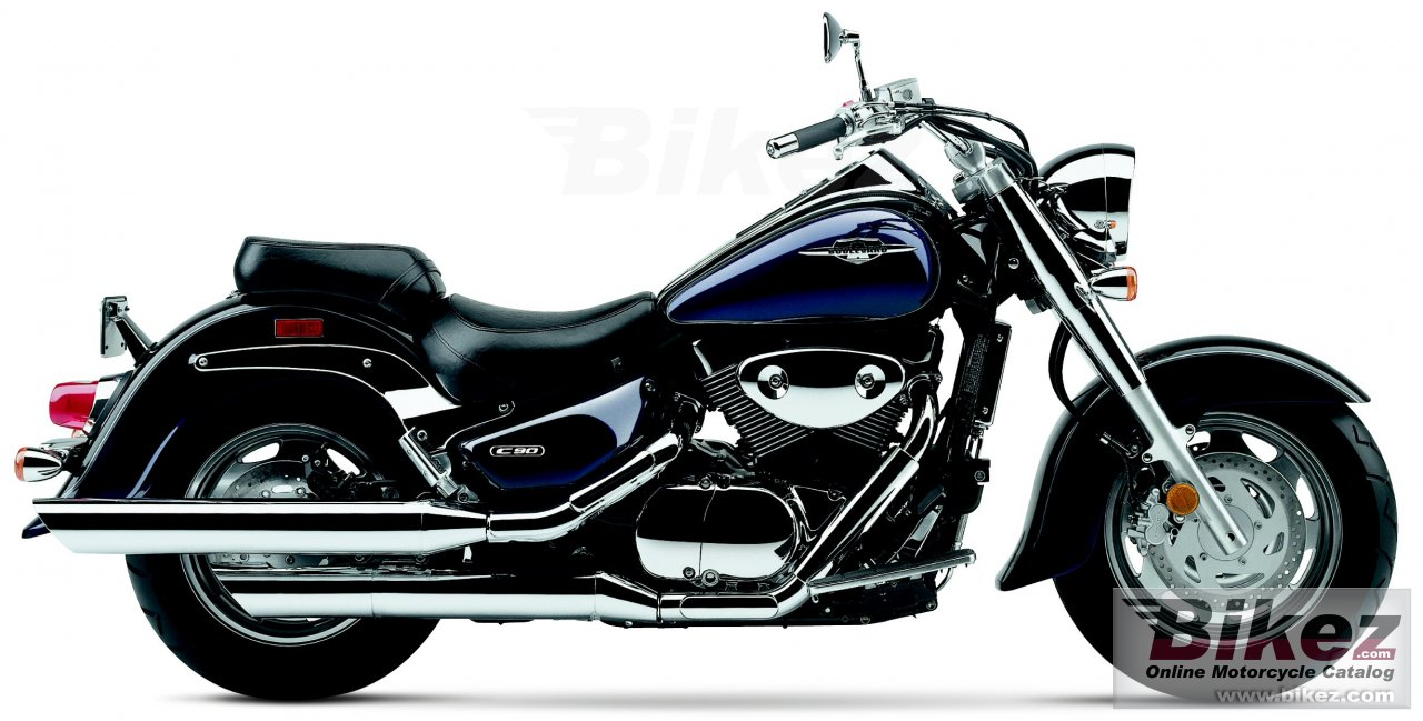 Big Suzuki boulevard c90 picture and wallpaper from Bikez.com