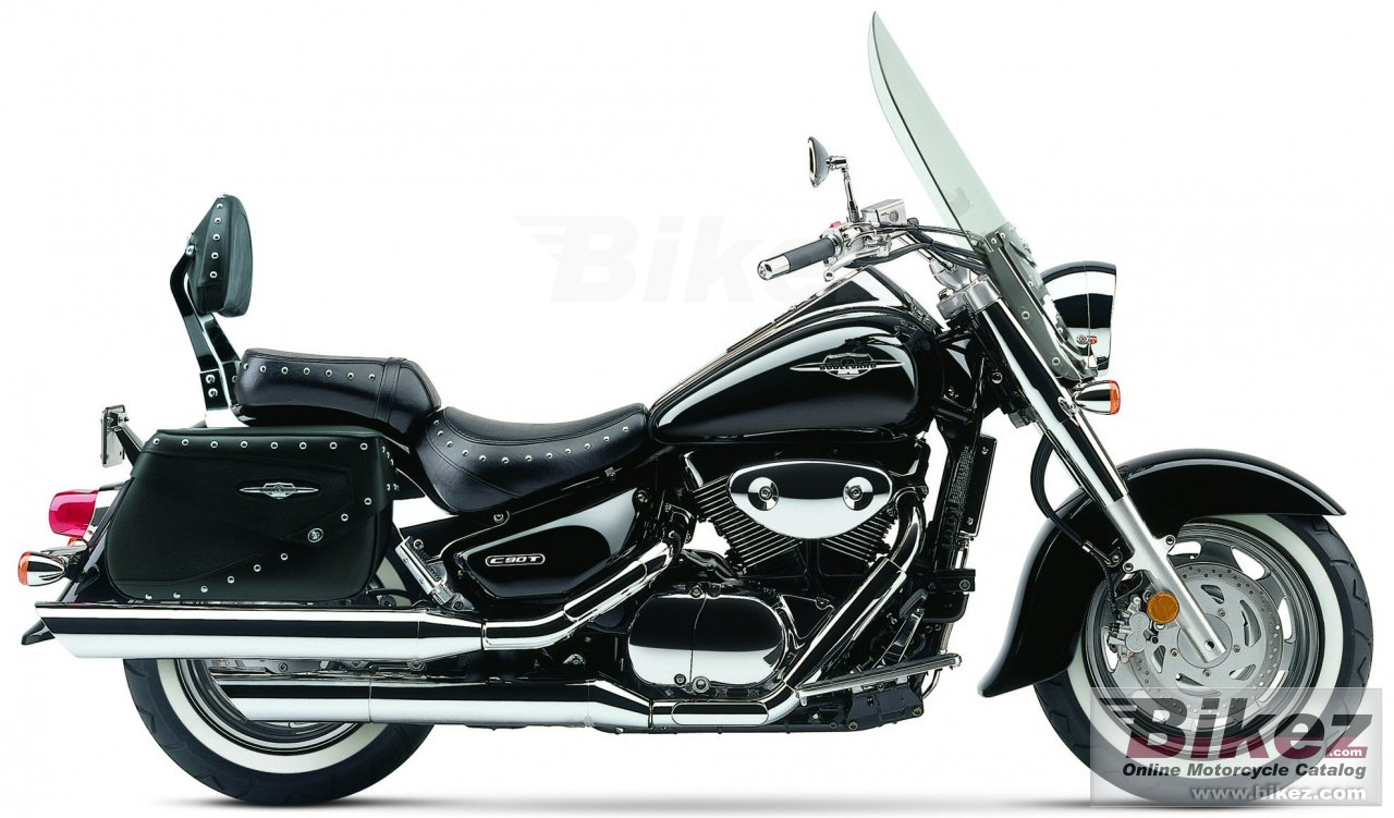 Big Suzuki boulevard c90 black picture and wallpaper from Bikez.com