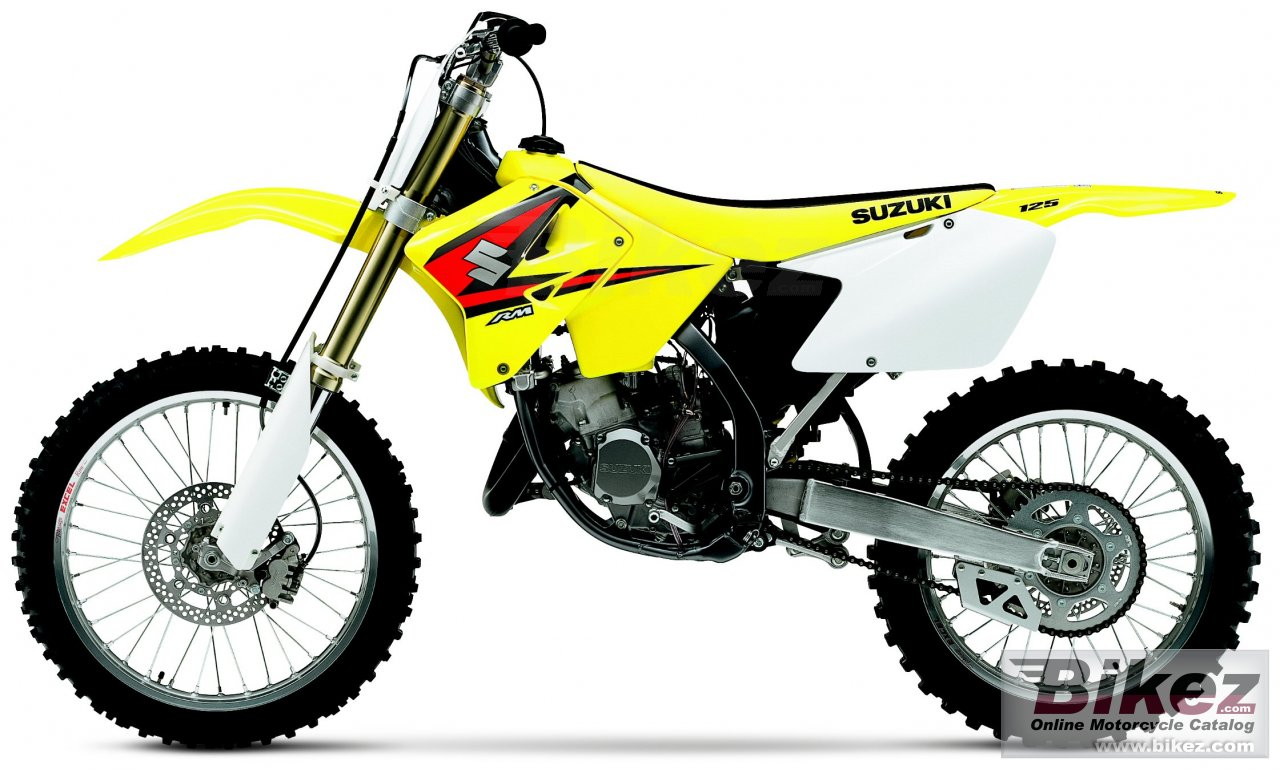 Big Suzuki rm 125 picture and wallpaper from Bikez.com