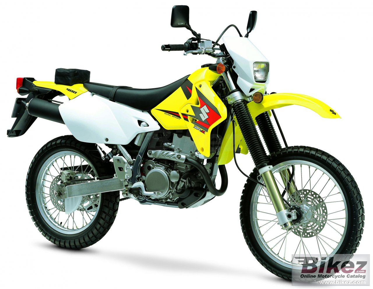 Big Suzuki dr-z 400 s picture and wallpaper from Bikez.com