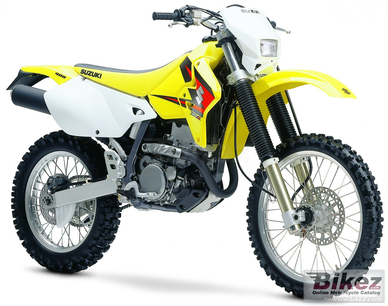Big Suzuki dr-z 400 e picture and wallpaper from Bikez.com