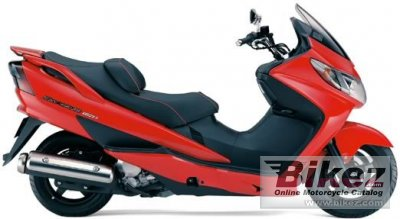 2005 Suzuki Skywave 250 Type S photo