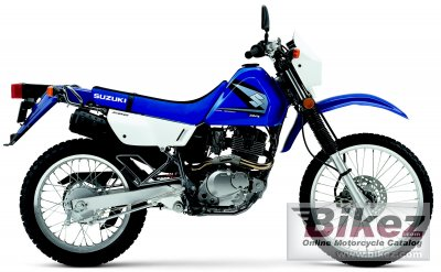 2005 Suzuki DR 200 SE specifications and pictures