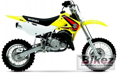2005 Suzuki RM 65 specifications and pictures