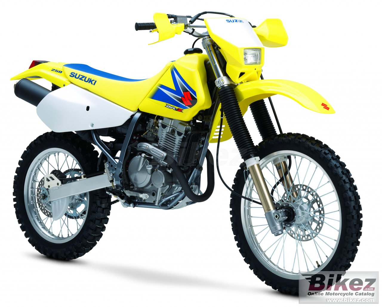 Big Suzuki dr-z 250 picture and wallpaper from Bikez.com