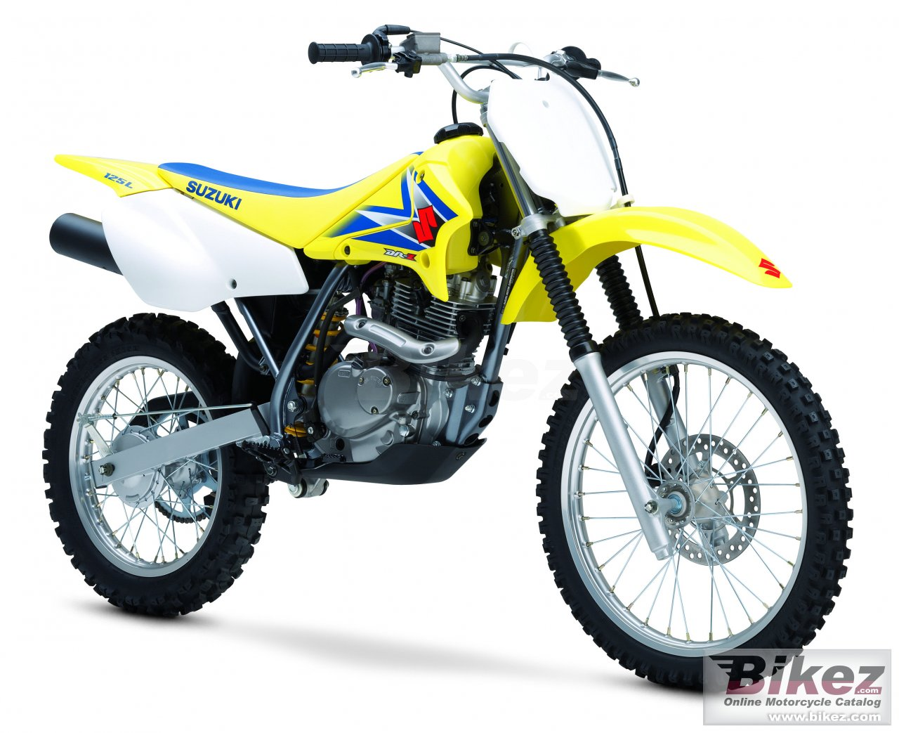 Big Suzuki dr-z 125 l picture and wallpaper from Bikez.com