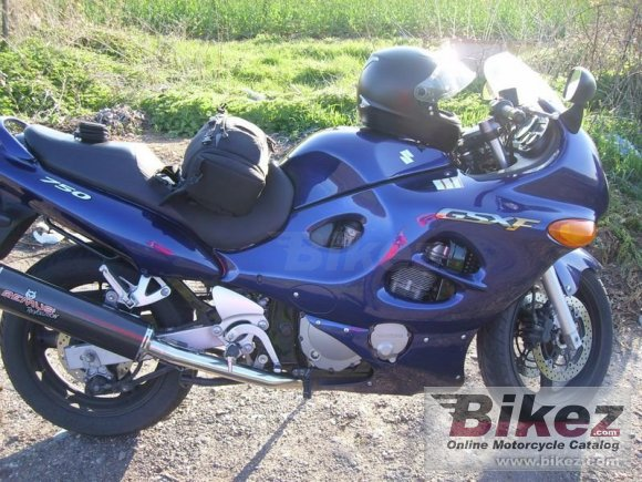 2006 Suzuki GSX 750 F photo