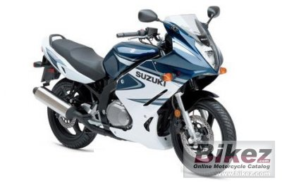 2006 Suzuki GS 500 F specifications and pictures