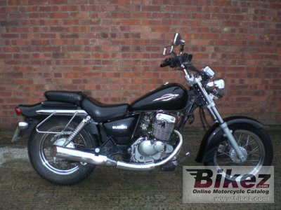 2006 Suzuki Marauder 125 specifications and pictures