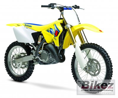 2006 Suzuki RM 125 specifications and pictures