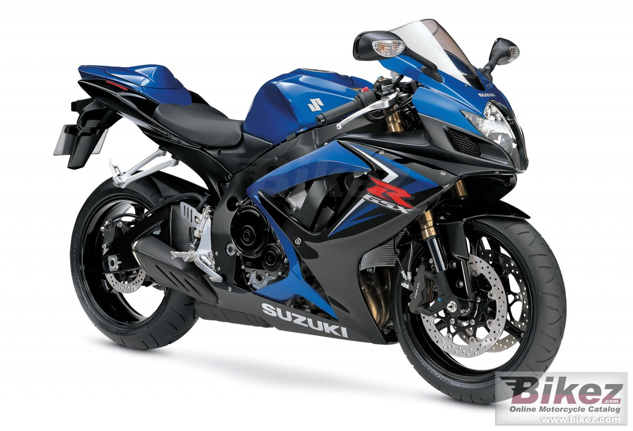 Big Suzuki gsx-r 600 picture and wallpaper from Bikez.com