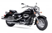 2007 Suzuki Boulevard C90 Black photo