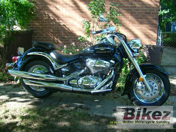2007 Suzuki Boulevard C50 Black photo