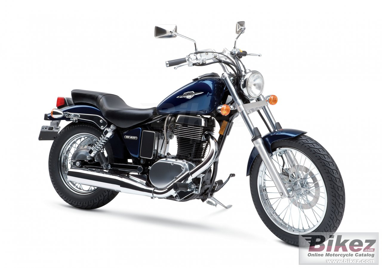 Big Suzuki boulevard s40 picture and wallpaper from Bikez.com