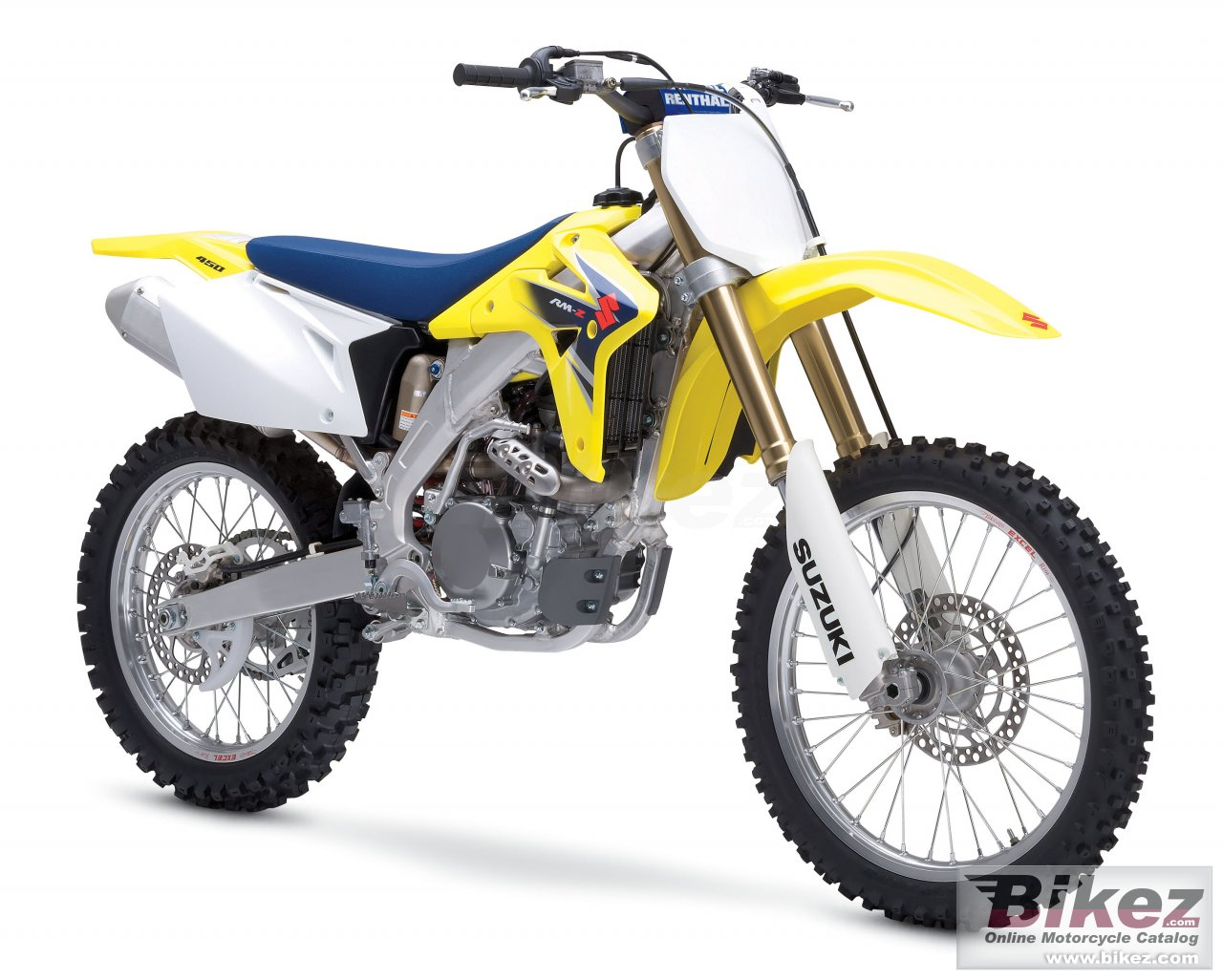 Big Suzuki rm-z 450 picture and wallpaper from Bikez.com