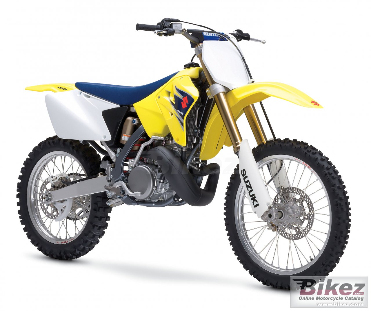 Big Suzuki rm 250 picture and wallpaper from Bikez.com