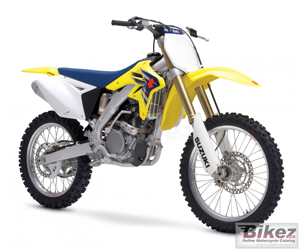 Big Suzuki rm-z 250 picture and wallpaper from Bikez.com