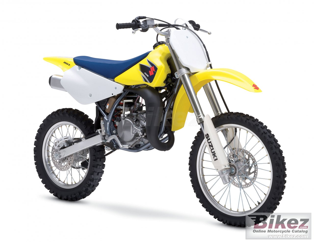 Big Suzuki rm 85 l picture and wallpaper from Bikez.com