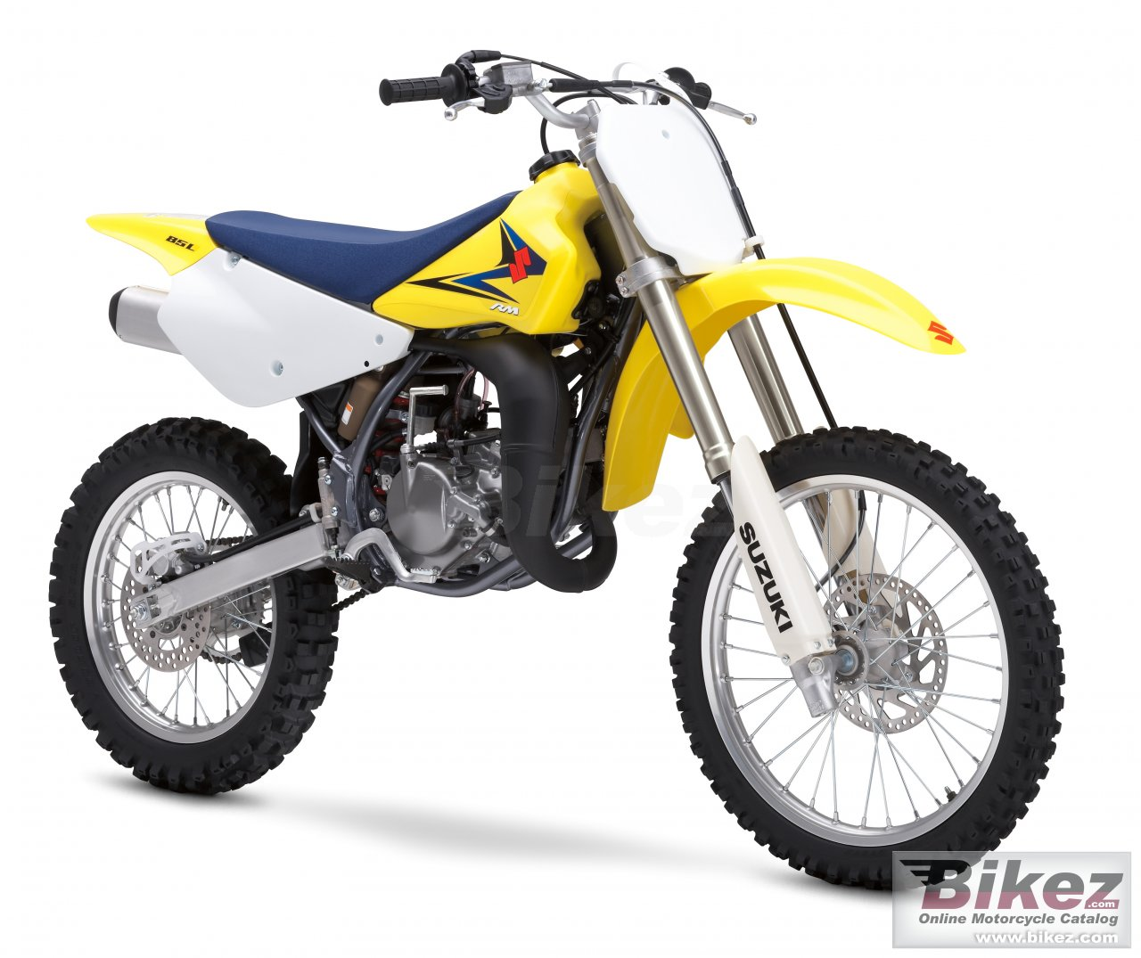 Big Suzuki rm85l picture and wallpaper from Bikez.com
