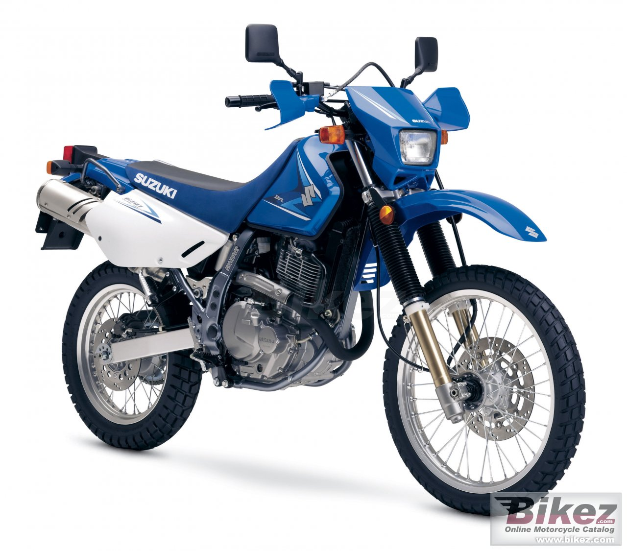 Big Suzuki dr650se picture and wallpaper from Bikez.com