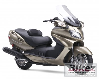 2008 Suzuki Burgman 650 photo