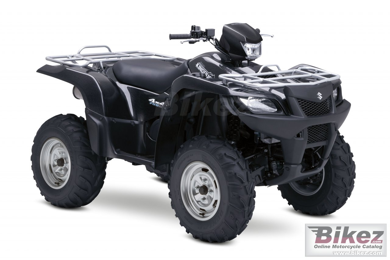 Suzuki kingquad 750axi limited