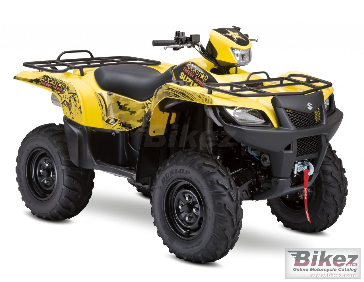 Big Suzuki kingquad 750axi rockstar picture and wallpaper from Bikez.com