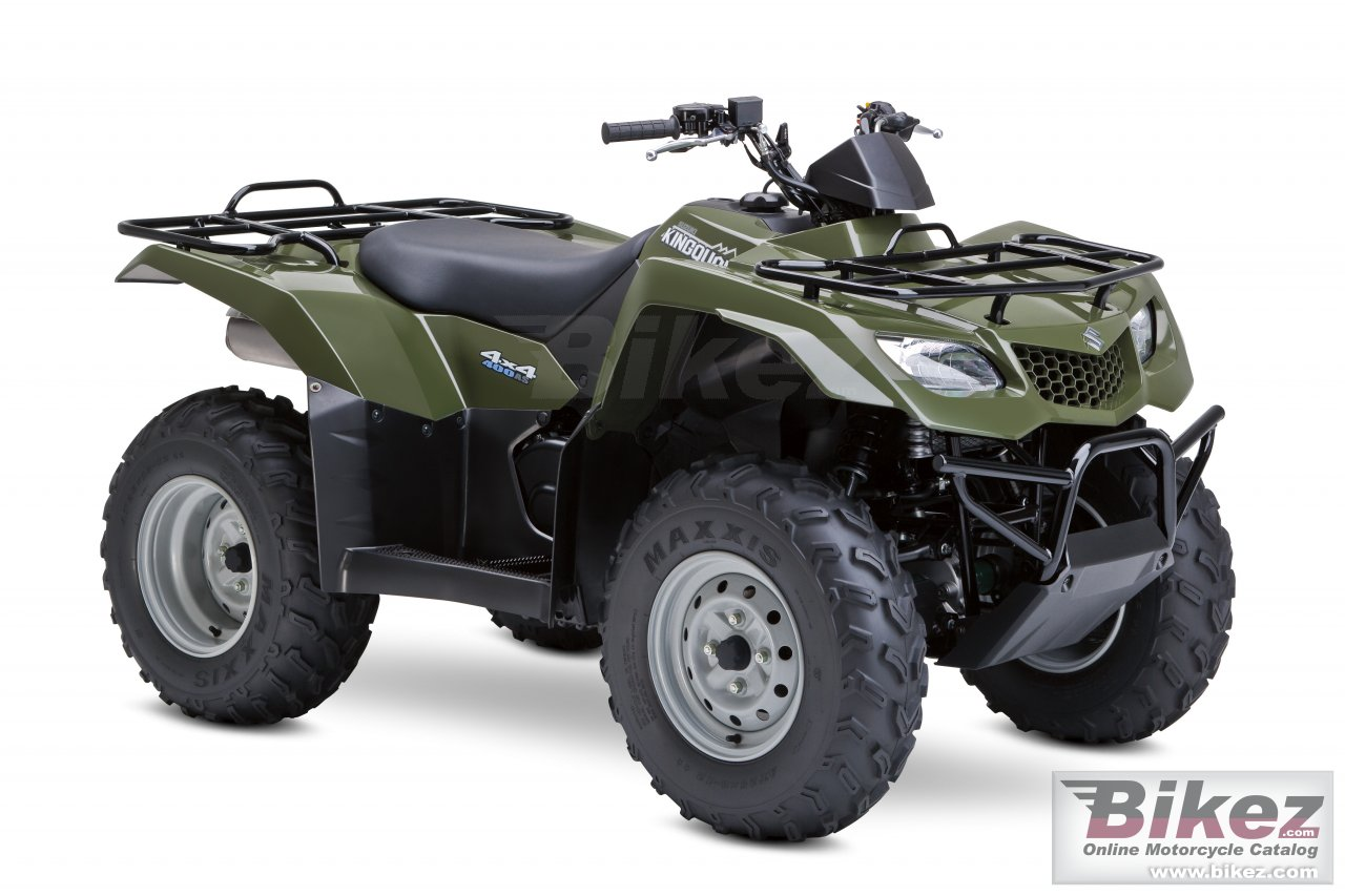 Big Suzuki kingquad 400as picture and wallpaper from Bikez.com