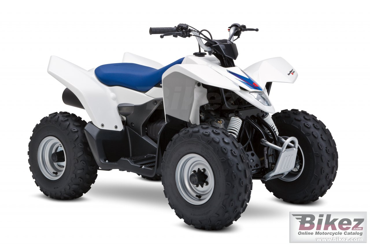 Big Suzuki quadsport z90 picture and wallpaper from Bikez.com