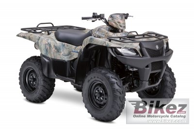 2009 Suzuki KingQuad 450AXi 4x4 Camo photo