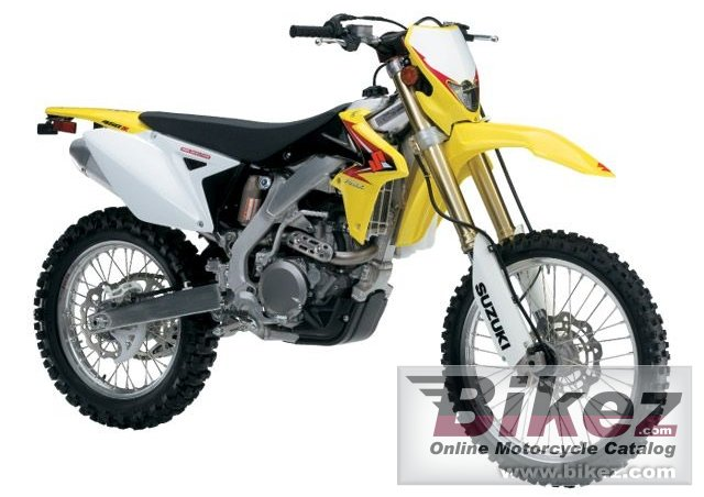 Big Suzuki rmx450z picture and wallpaper from Bikez.com