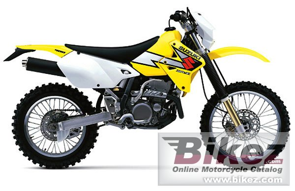 Big Suzuki dr-z400e picture and wallpaper from Bikez.com