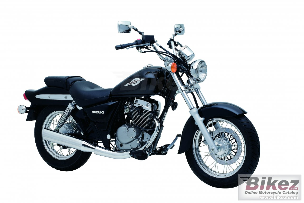 Big Suzuki marauder gz125 picture and wallpaper from Bikez.com