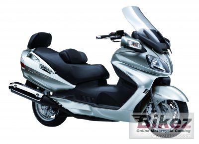 2010 Suzuki Burgman 650 ABS Executive