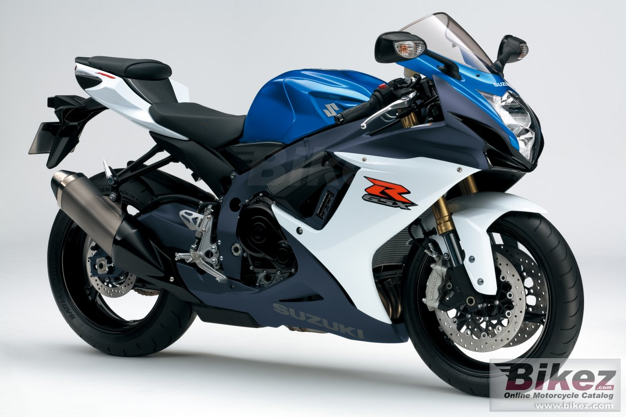 Big Suzuki gsx-r750 picture and wallpaper from Bikez.com