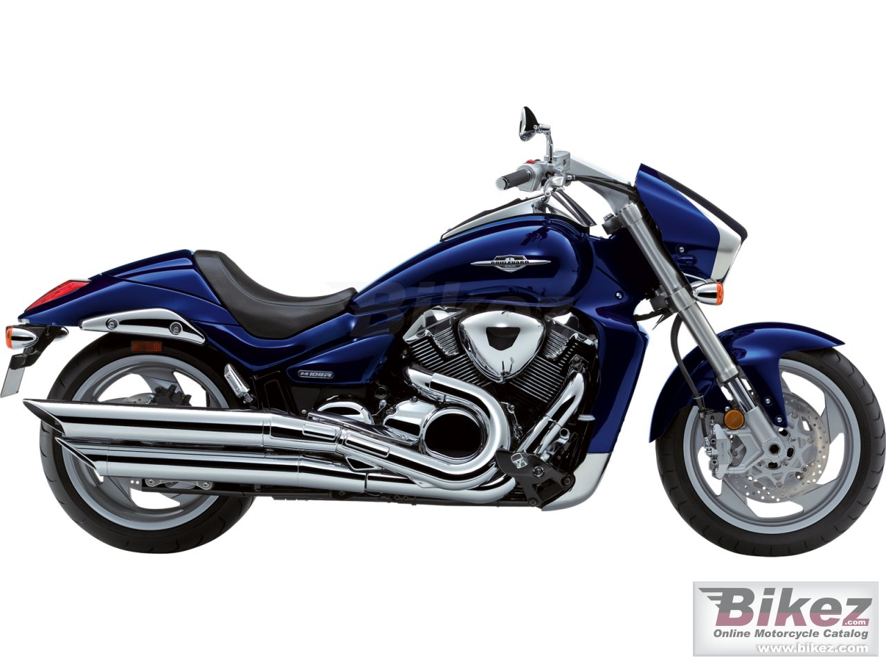 Big Suzuki boulevard m109r limited edition picture and wallpaper from Bikez.com