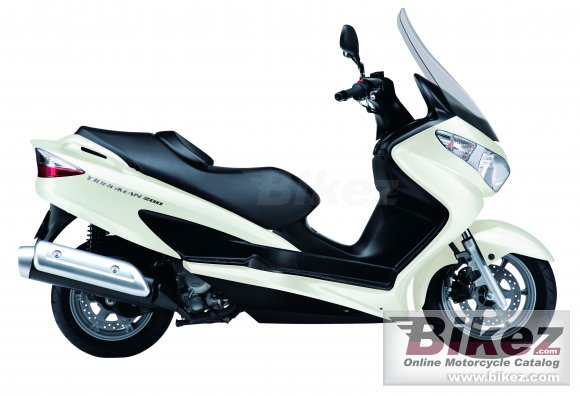 2011 Suzuki Burgman 200 photo