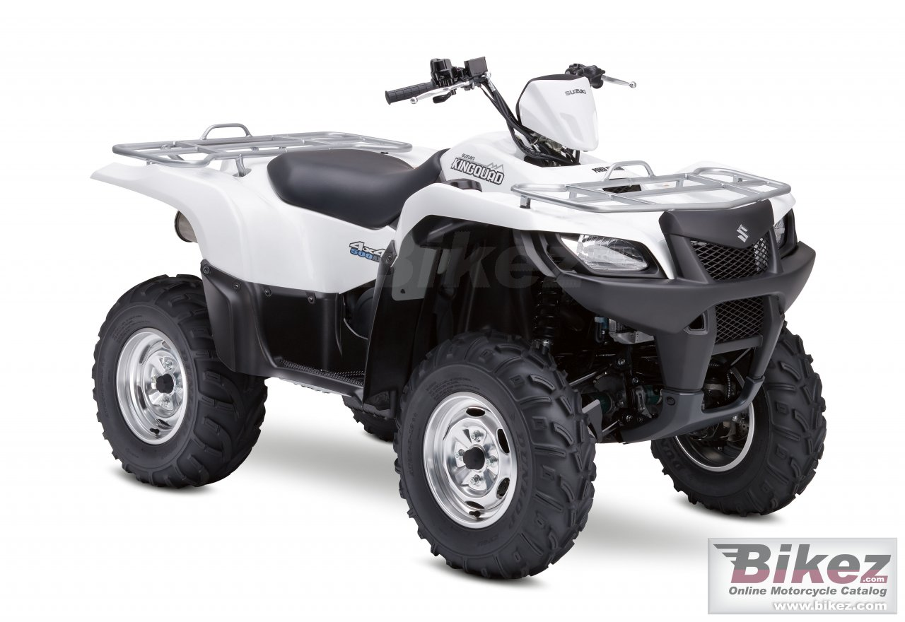 Big Suzuki kingquad 500axi picture and wallpaper from Bikez.com