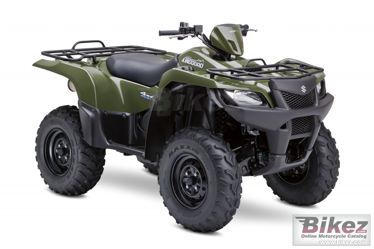 Big Suzuki kingquad 450axi picture and wallpaper from Bikez.com