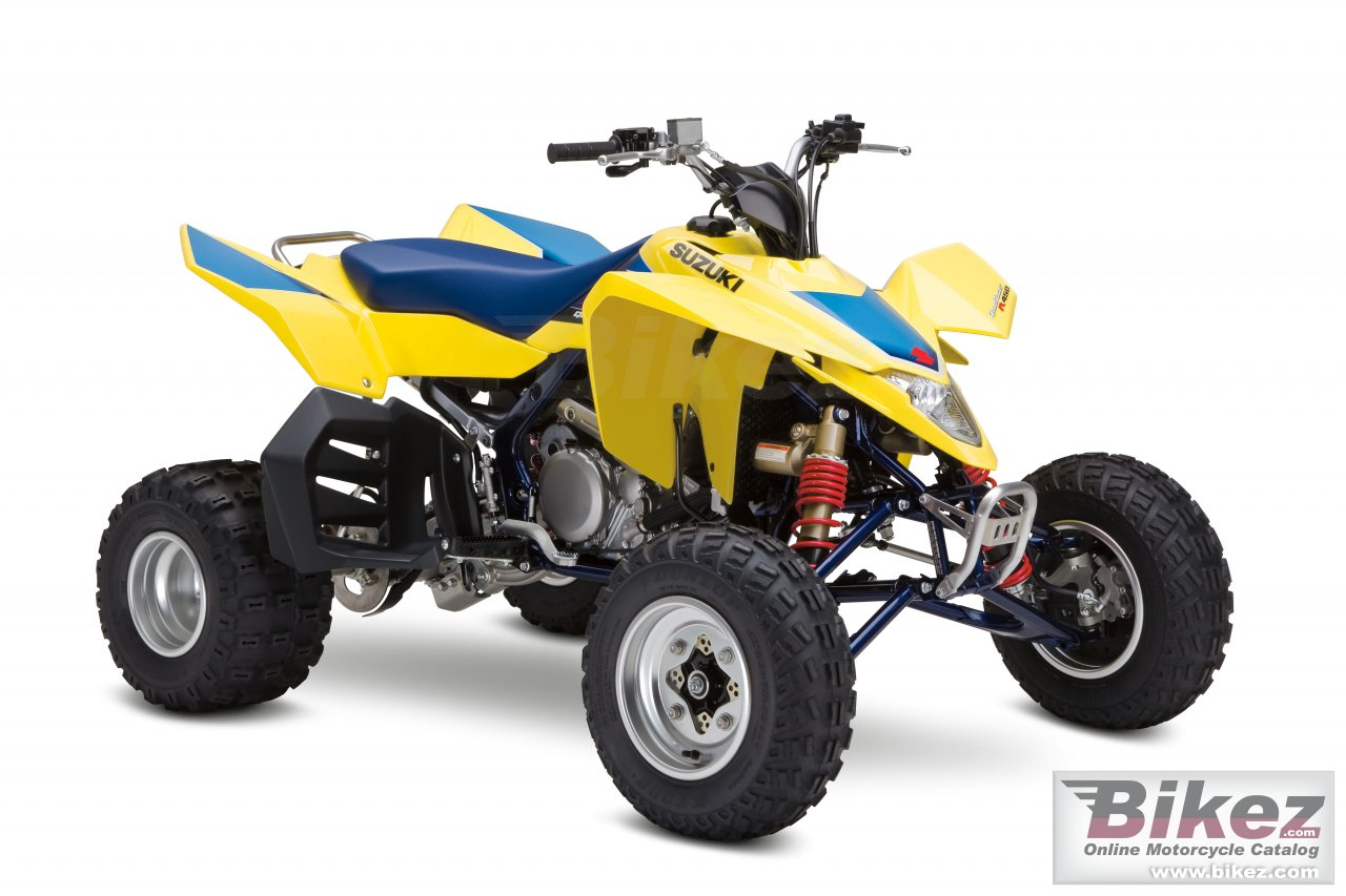 Big Suzuki quadracer r450 picture and wallpaper from Bikez.com