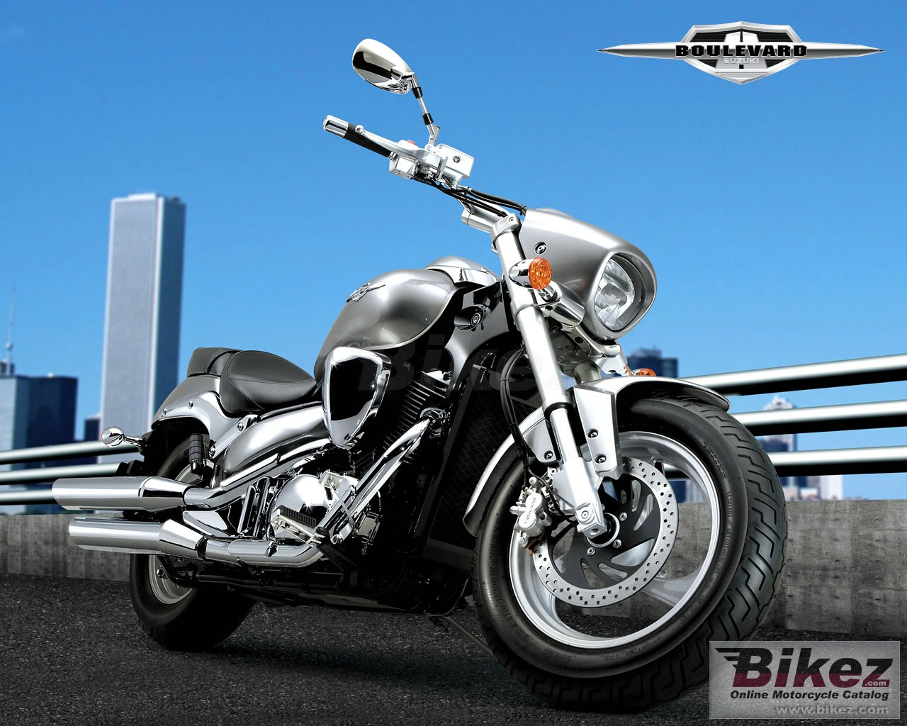 Big Suzuki boulevard 400 picture and wallpaper from Bikez.com