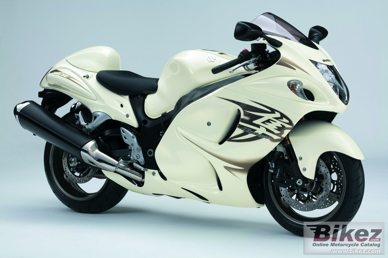 Big Suzuki hayabusa gsx1300r picture and wallpaper from Bikez.com