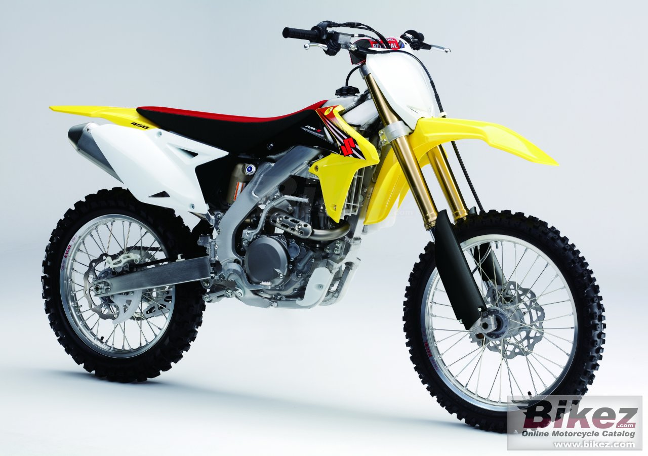 Big Suzuki rm-z450 picture and wallpaper from Bikez.com